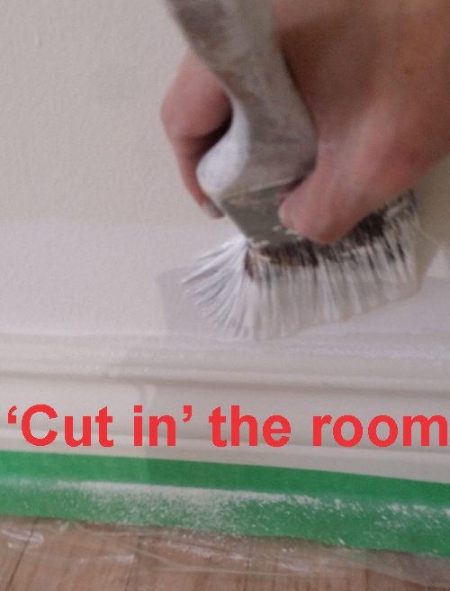 Cut in the room