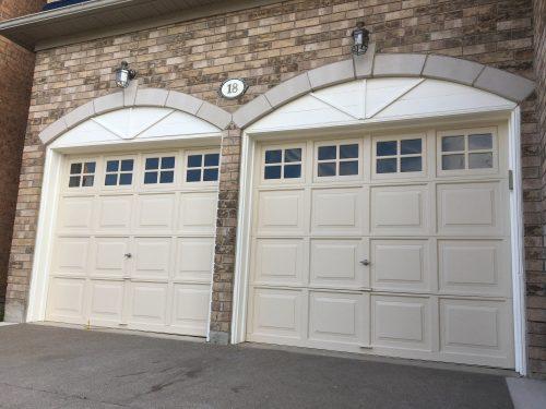Paint a garage door