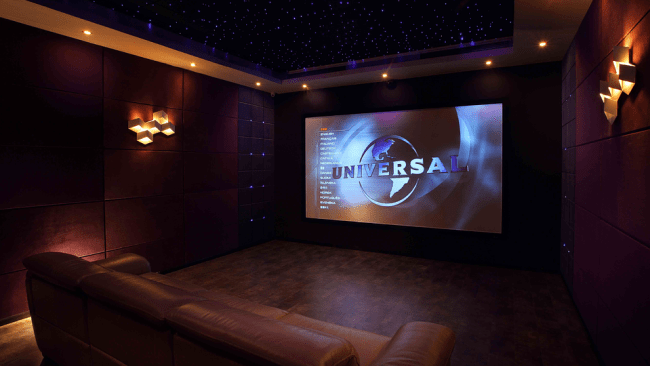 movies in home