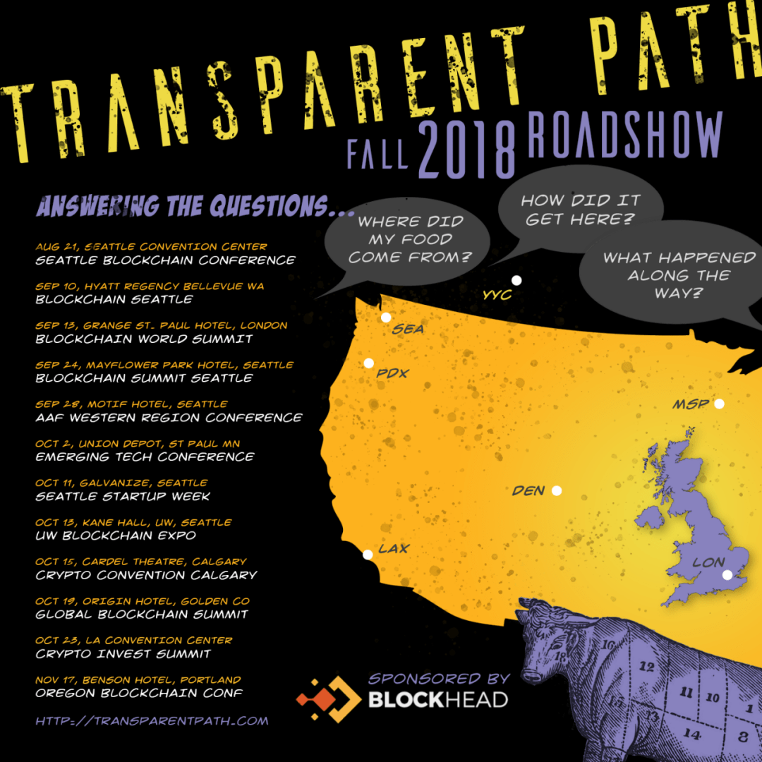 Transparent Path Fall 2018 Roadshow