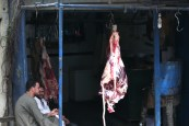 Hanging meat Luxor