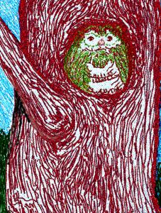20130313XD-FeltTip-Owl-01A04(SmallSized)