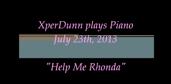 "Click to watch ""Help Me Rhonda"""