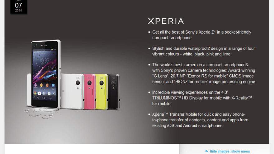【Z1 compact】Xperia Z1 fと比較してみた。ガラスマ機能不要なら超pushです!