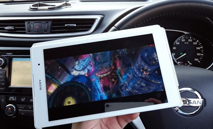 【Z3 Tablet Compact】出先で使うならやっぱりLTEのモデルがいい