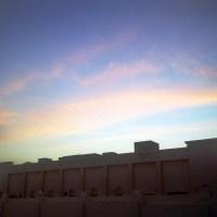 Portrait of an Evening sky