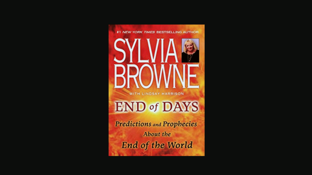 Corona Virus, the Movie Contagion, and the Book-End of Days by Sylvia Browne