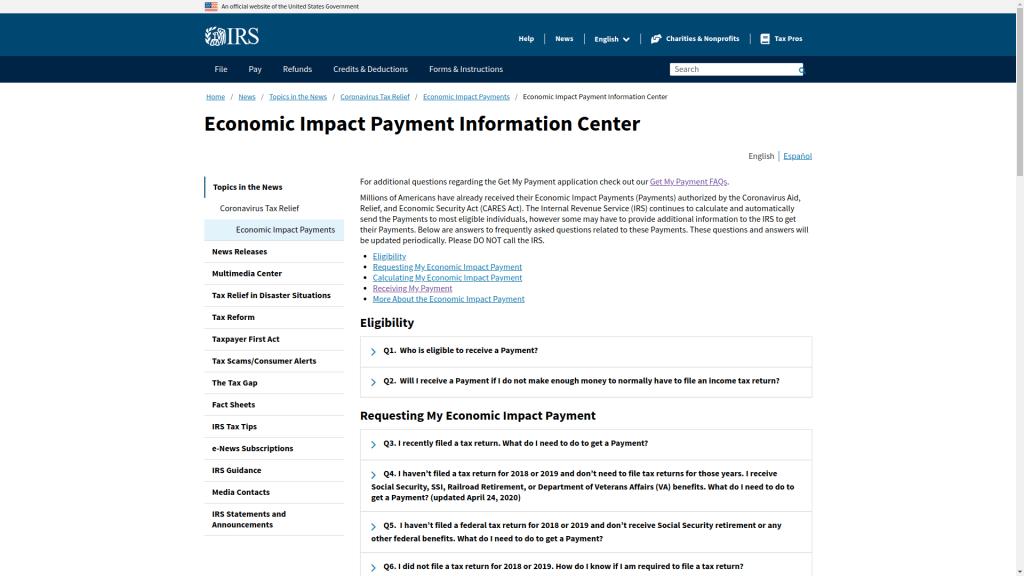 coronavirus payments get my payment app tool