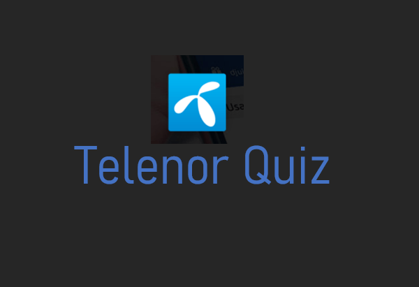 3. August Telenor Quiz Äntwerten