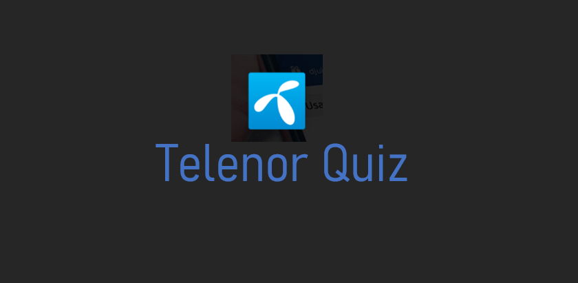 Telenor Quiz 20 July Question 05 Answer Free