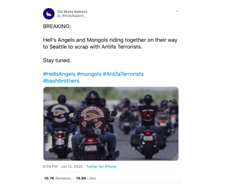 Image of are the hells angels headed to seattle