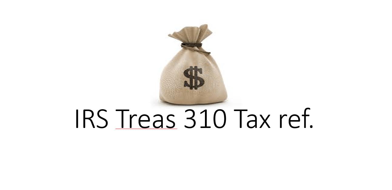 IRS財務省310税参照