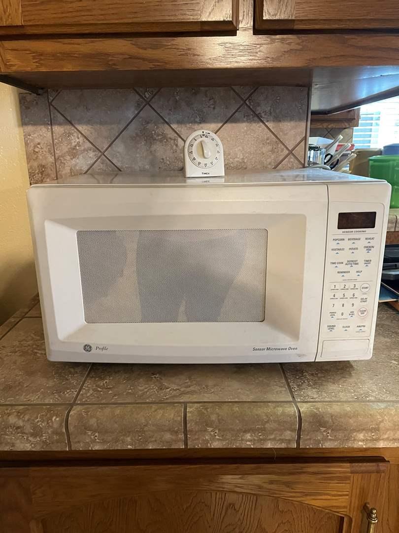 lot 18 ge sensor microwave oven
