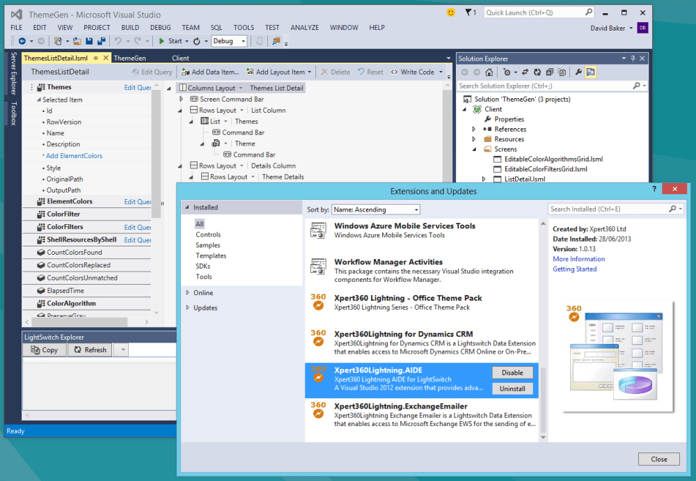 Second Look at LightSwitch in VS2013 Preview (1/5)