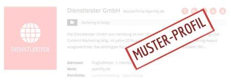 Xpertify Muster Profil Firma