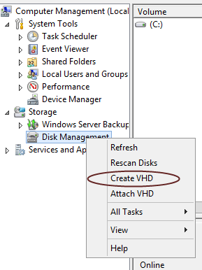 Windows 2012 Backup to a Virtual Hard Drive (VHD) » Xpert Notes