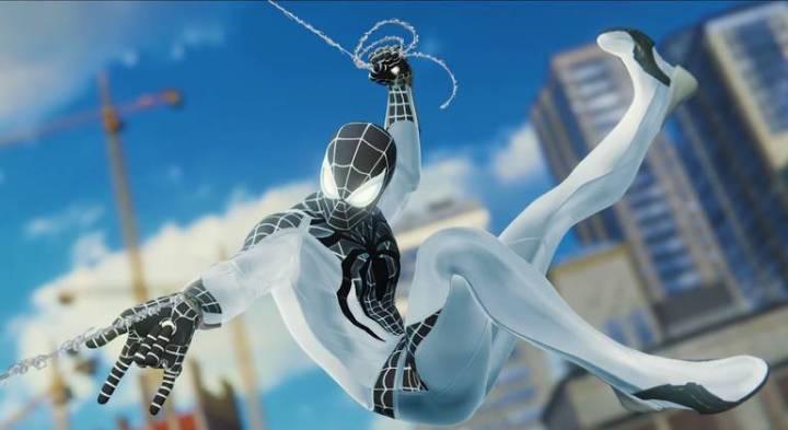 Spider-Man: Veja todos os trajes do jogo do Homem-Aranha - Traje Negativo