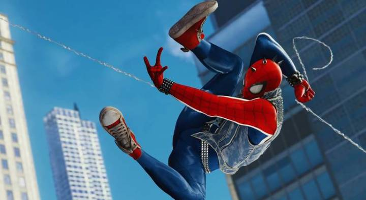 Spider-Man: Veja todos os trajes do jogo do Homem-Aranha - Traje Spider Punk