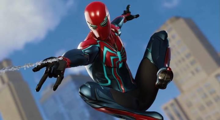 Spider-Man: Veja todos os trajes do jogo do Homem-Aranha - Traje da Velocidade