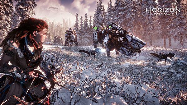 Horizon Zero Dawn Jogo de PS4 Mundo aberto