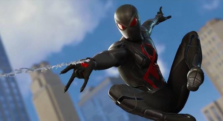 Spider-Man: Veja todos os trajes do jogo do Homem-Aranha - Traje Escuro