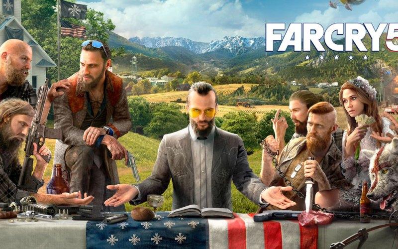 Far Cry 5: Gameplay de 8 minutos na Gamescom