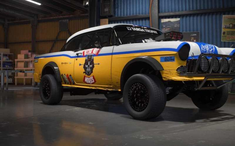 Carros do MAC Need For Speed Payback off-road