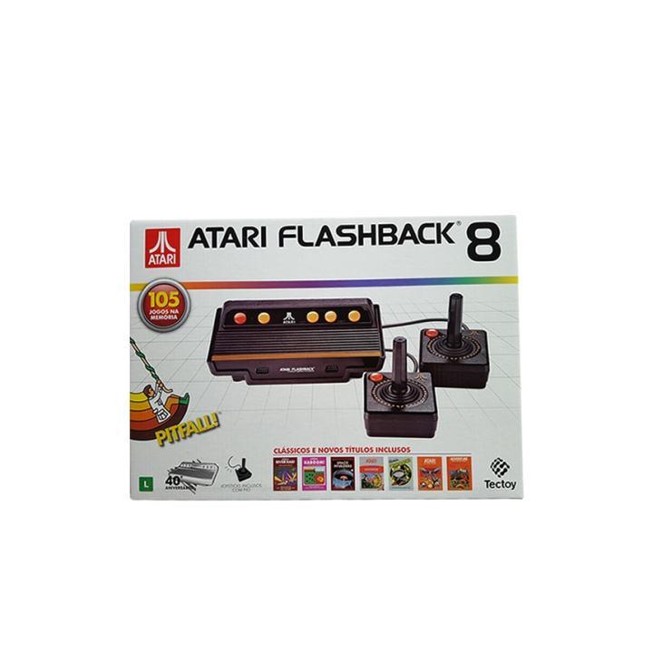 Novo Atari: TecToy lança o Atari Flashback 8 com 105 jogos e versão portátil 2