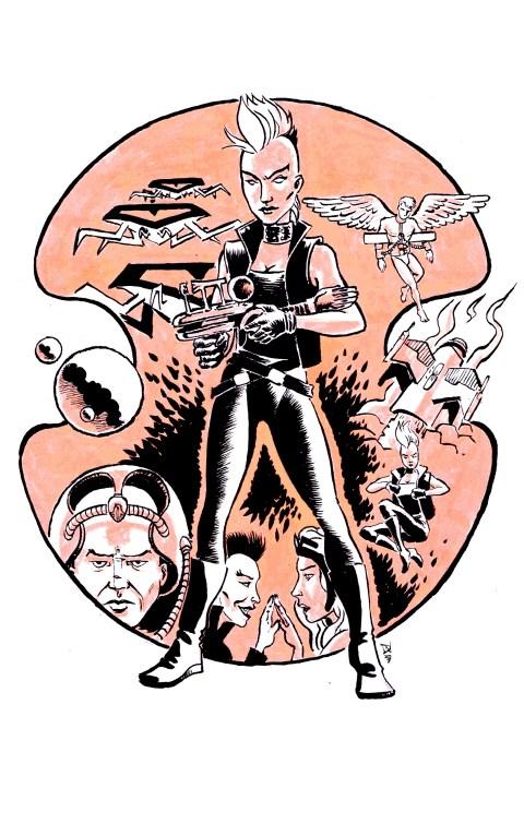 Ororo, Queen of the Galaxy, by David Wynne