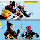 """""""Well, Kitty Pryde called me from Japan and then disappeared... BUT WHO COULD THIS INTANGIBLE MASKED OPPONENT POSSIBLY BE?"""" (Kitty Pryde and Wolverine #3)"""