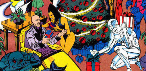 Art by Sal Buscema and Karl Bollers, Marvel Holiday Special 1994 one-shot (1994)