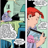 Things about Rachel Summers that are not The Saddest Thing at this point in continuity: None of them. (X-Men #194)