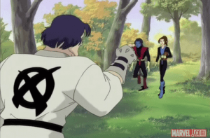 Does Xavier get custom gi printed? Did Wolverine paint it himself? LEAVE NO STONE UNTURNED!