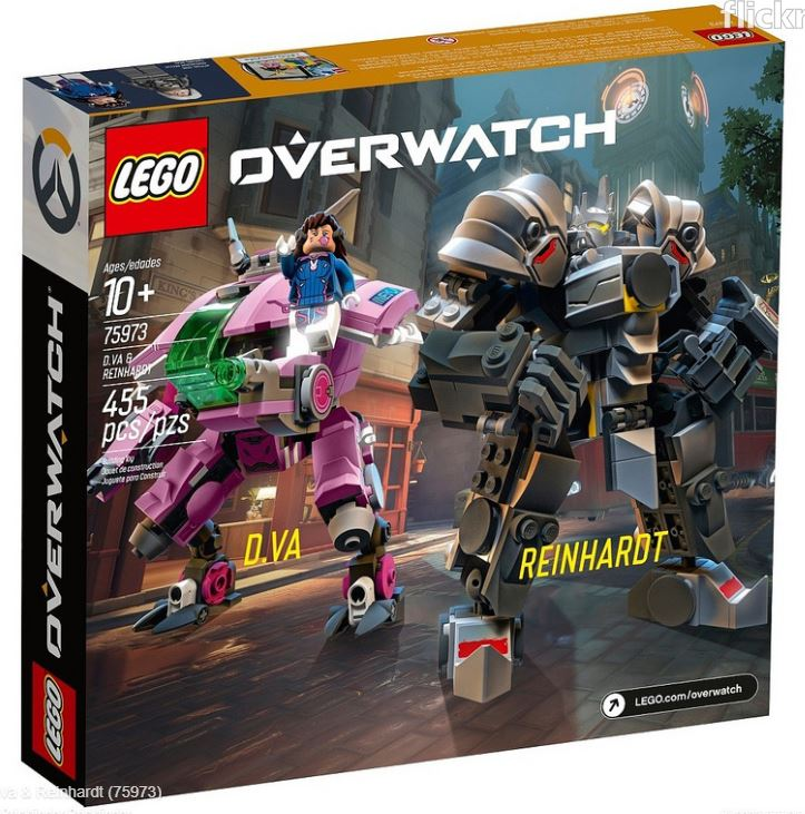 Widowmaker Figur Minifigur Tracer Watchpoint Bastion 75970 LEGO Overwatch
