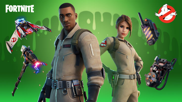 Fortnite Adds Ghostbuster Skins, Proton Pack, Ecto-Glider, and More