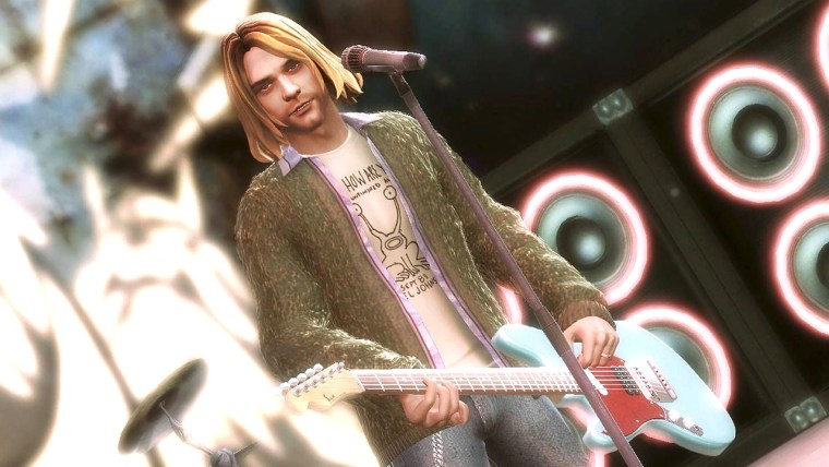 """Hey kids, I'm Kurt Cobain and this next one is... a Bon Jovi cover."""