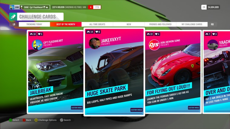Run out of things to do in Forza Horizon 4? Now you won't. Ever.