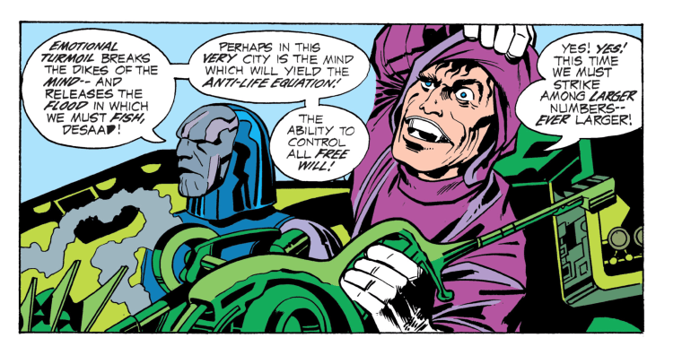 Art by Jack Kirby. (Image Credit: DC)