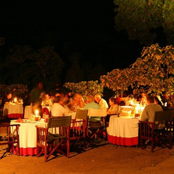 Dinner During African Safaris