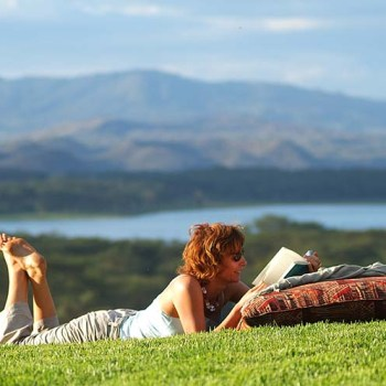 Reading while on African Safaris