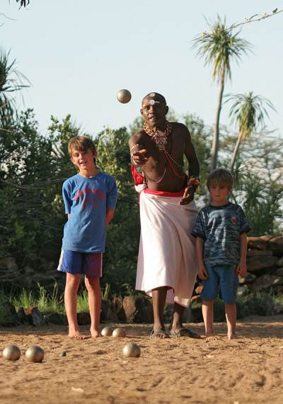 African Safari Children Games