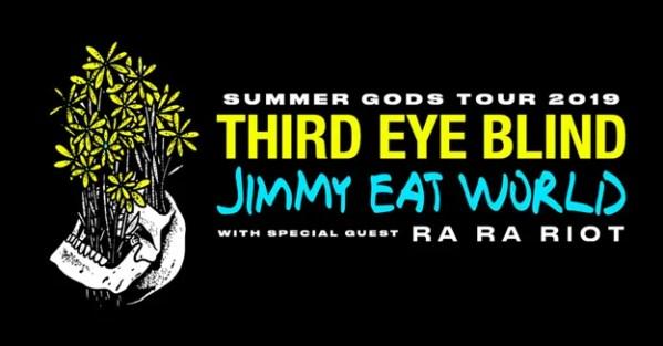Third Eye Blind and Jimmy Eat World  Announce 2019 Summer Gods Tour