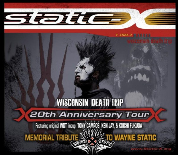 STATIC-X Announces Wisconsin Death Trip 20th Anniversary Tour