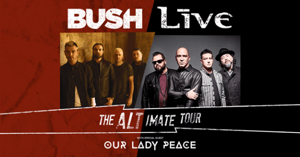 LIVE and BUSH Celebrate 25TH Anniversary of Iconic Albums