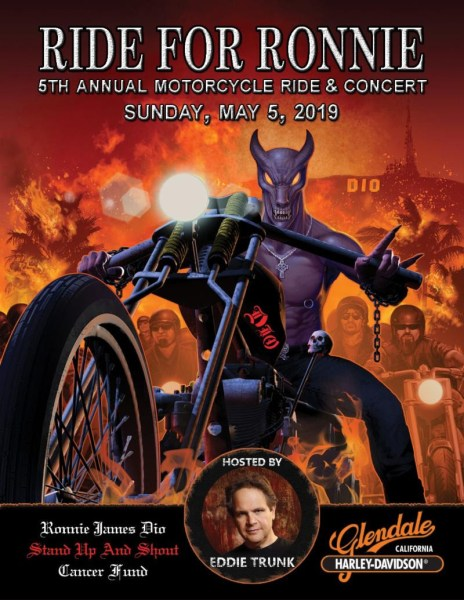 Fifth Annual RIDE FOR RONNIE Motorcycle Ride & Concert