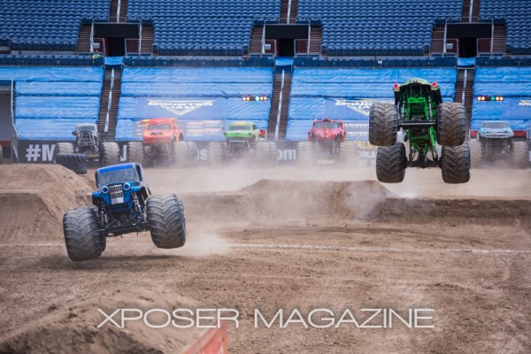 Monster Jam made its way into Mile High Stadium