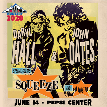 Hall & Oates at The Pepsi Center June 14