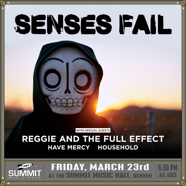 Senses Fail took over the Summit Music Hall