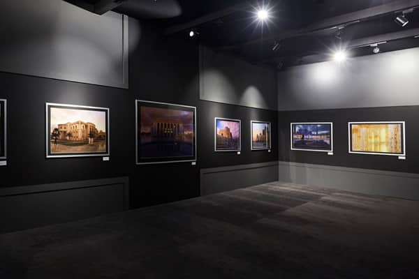 Private Exhibition Space Application