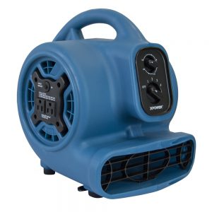 XPOWER Freshen Aire P-260AT 1/5 HP 4 Speed Scented Air Mover with Daisy Chain